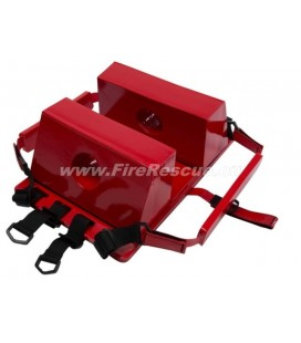 FIRERESCUE HEAD IMMOBILISER RED