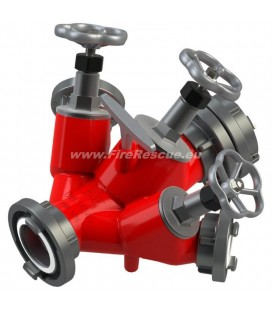 TRIPLE WATER DISTRIBUTER B/CBC WITH SCREW DOWN VALVES WITH REDUCER COUPLING B/C
