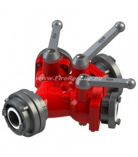TRIPLE WATER DISTRIBUTER B/CCC WITH BALL VALVES